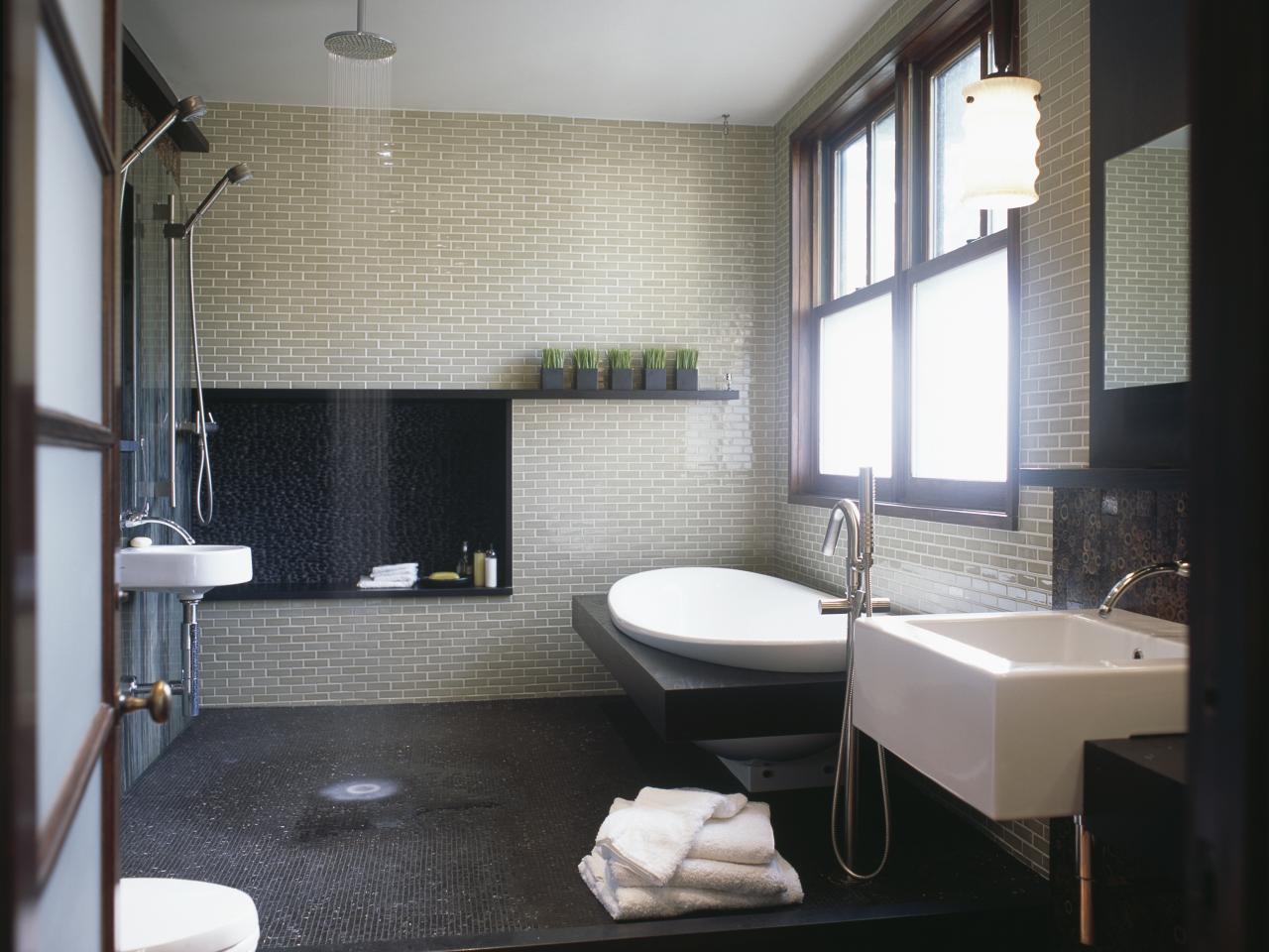 De-stress Yourself With A Spa Like Designed Bathroom